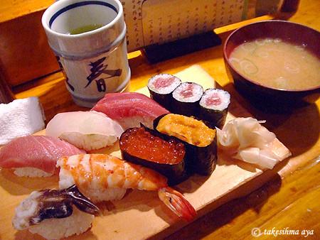 寿司的感度犹如恋人初吻的舌尖