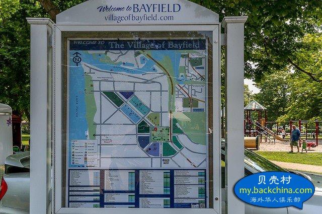 安大略省的小鎮小景之:休倫湖畔的特色小鎮 Bayfield(貝菲爾德)
