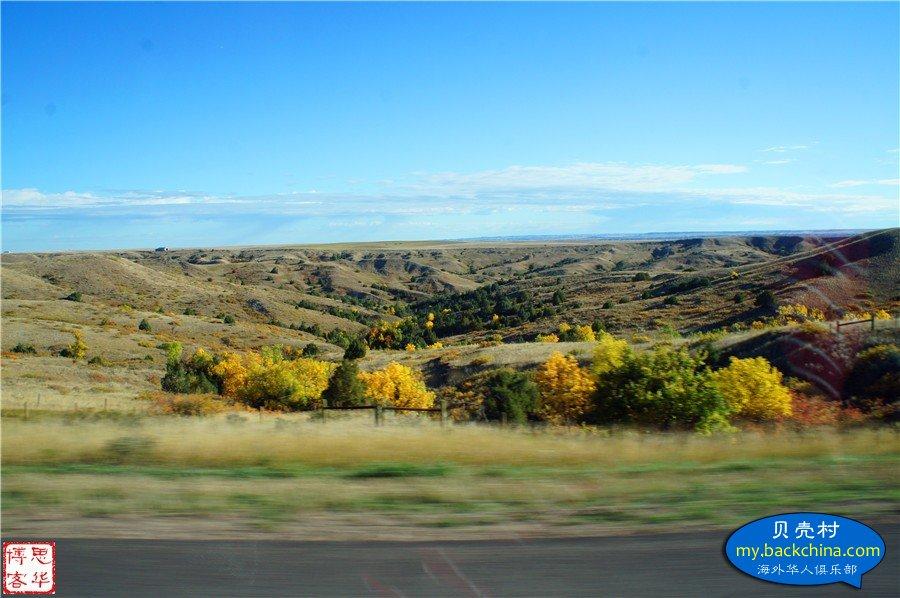 美西万里行---进入怀俄明州到达黄石公园(十二)
